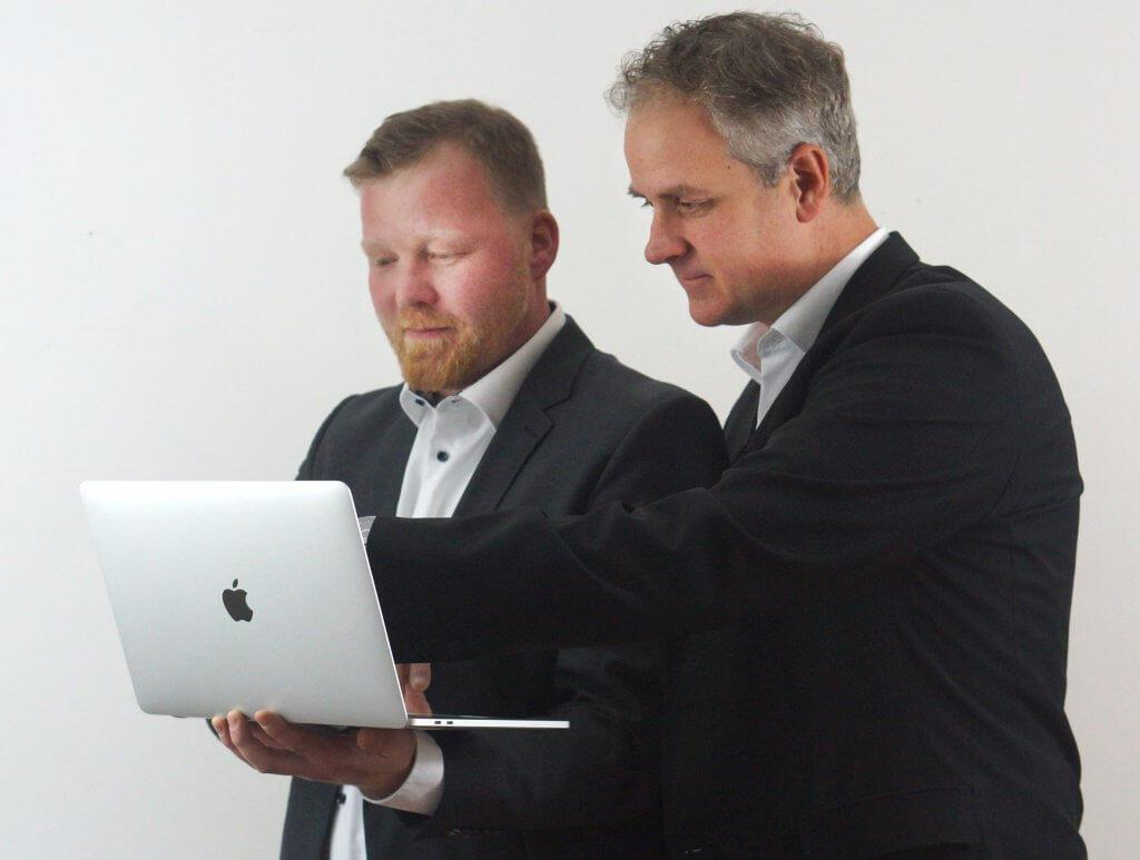 Die Gründer Henning Liese und Oliver Wissmann
